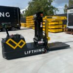 Compact fork lift